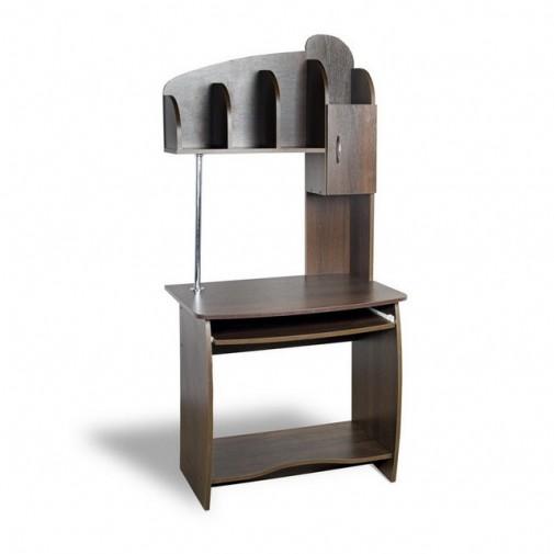 """Комп'ютерний стіл """"Альфа"""" Тиса меблі (компактний з надбудовою)"""