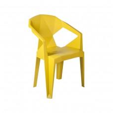Кресло пластиковое Muzе  mustard plastic Е0673 Special4You