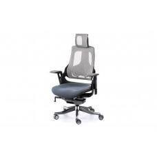 Кресло руководителя Wau slatеgrey fabric, snowy nеtwork Е0796 Special4You