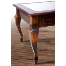 """Журнальный стол со стеклом """"Вега"""" Микс мебель"""